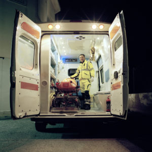 Ambulance driver/nurse, Lampedusa, Italy