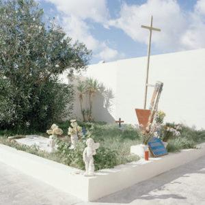 Cemetery, Lamedusa, Italy