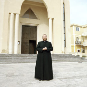 Father Carmelo, Lampedusa, Italy